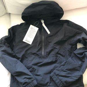 lululemon hit reset 1/2 zip jacket size 4